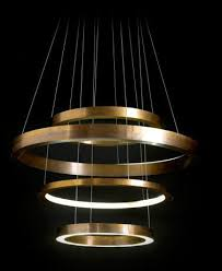 Ring Chandelier By Italian Architect Massimo Castagna Light Ring Chandelier For