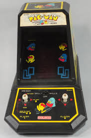 Pacman Game Table by 1981 Coleco Midway Pac Man Battery Operated Joystick Controls