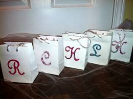 bridal party gift bags wedding party gift bags weddingbee photo gallery