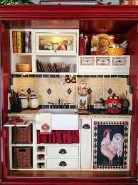 miniature dollhouse kitchen furniture 78 best cocinas armario miniatura images on armoire