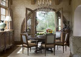 round breakfast nook table round table with leaf dining room traditional with arched doorway
