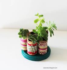 how to make miniature cork planters for your succulents akamatra