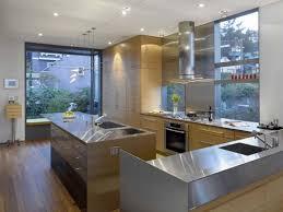 30 stainless steel modern kitchen ideas 2068 baytownkitchen stainless steel modern kitchen design with modern countertops and storage