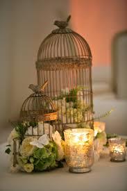 luxury white birdcage centerpiece 64 for minimalist design room