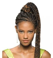 hair pony tail for african hair fake braided pony tails for black women freetress equal