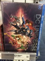 the dc universe collection on blu ray out at best buy a week