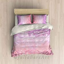girls pink bedding blush pink duvet cover abstract bedding set comforter