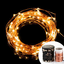 Solar Powered Outdoor Led String Lights by Taotronics Led String Starry Light Copper Wire Lights Tt Sl032
