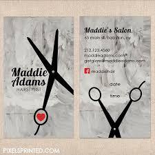 Salon Business Card Ideas 12 Best Hair Stylist Business Cards Images On Pinterest Business
