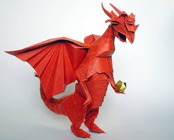paper dragons this is what i get for googling origami um diy
