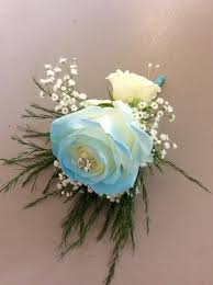 blue boutonniere baby blue boutonnière in warwick ri petals gift shop florist