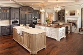 kitchens with different colored islands 5 ways to create a cozy white wood kitchen