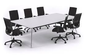 Rectangular Boardroom Table San Fran Executive Boardroom Table Rectangle Chrome Legs 2400l X 12