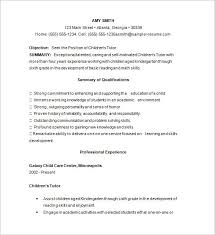 Preschool Teacher Resume Template Doc 585640 Sample Tutor Resume Template U2013 Tutor Resume Template