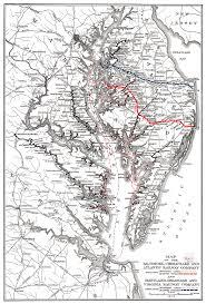 Map Delaware Prr Chesapeake Region Delmarva District