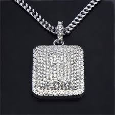 diamond box necklace images Box cz necklace icy supply jpg