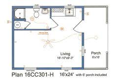 image result for 16 x 24 cabin floor plans florida pool house the world s catalog of ideas