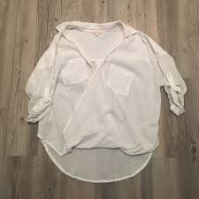 white flowy blouse 78 mystree tops white flowy blouse from s closet on