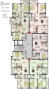 typical floor plan 1 2 3 bhk cluster plan image presidency spectrum for sale at