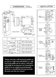 Commercial Overhead Door Installation Instructions by Commercial Door Installation Diagram How To Install A Steel Door