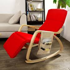 Rocking Chair Philippines Amazon Com Haotian Comfortable Relax Rocking Chair With Foot Rest