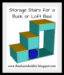 Bunk Beds With Stairs And Storage White Storage Stairs For A Bunk Or Loft Bed Diy Projects