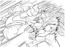 dragon ball kai coloring pages bebo pandco