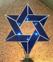 stained glass suncatcher of david decor bue