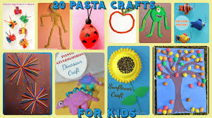 20 pasta crafts for kids u2013 the pinterested parent