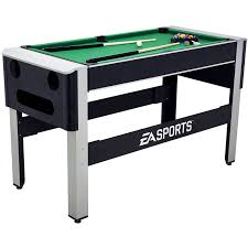 4 in 1 pool table ea sports 54 inch 4 in 1 swivel combo table 4 games with table