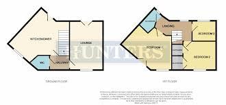 Hardwick Hall Floor Plan by 3 Bed Semi Detached House For Sale In Raisbeck Grove Hardwick