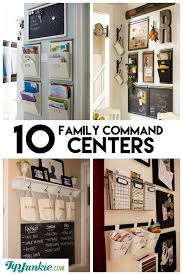 kitchen office organization ideas 10 stylish family schedule and command center ideas organize