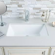 undermount bathroom sink bowl hahn ceramic medium rectangular bowl undermount white bathroom sink