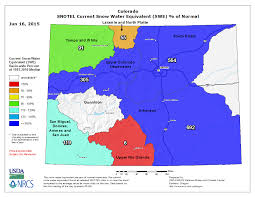 colorado snowpack map snowpack is the charts in both directions powder magazine
