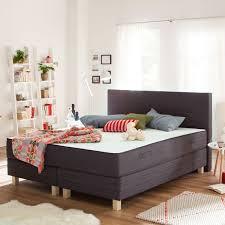 Schlafzimmer Bett Mit Matratze Boxspringbett Smood Für Erholsamen Schlaf Und Schöne Träume Home24
