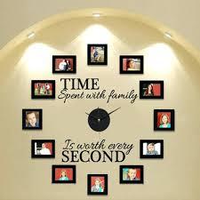 wall clocks family wall clock personalized family photo wall