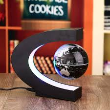 Levitating Light Bulb by Aliexpress Com Buy Novelty C Shape Led World Map Floating Globe