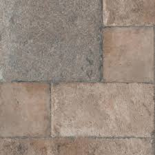 Spongy Laminate Floor Home Decorators Collection Tuscan Stone Bronze 8 Mm Thick X 16 In