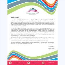 letterhead word template 5 printable layouts
