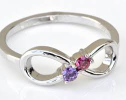 mothers infinity ring mothers ring etsy