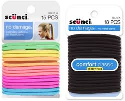 scunci hair ties scunci no damage hair elastics for 0 99 at walgreens starting 6