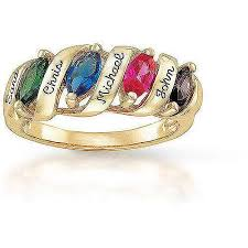 keepsake personalized family story s birthstone ring