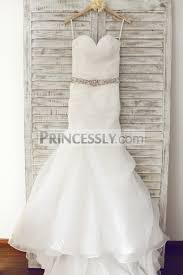 wedding dresses belts neckline organza wedding dress with beaded belt