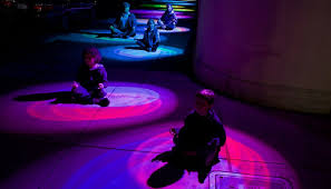 interactive light project citris and the banatao institute