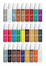 msds 30ml hair color spray aerosol spray paint for hair glitter