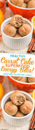 healthy carrot cake energy bites recipe gluten free vegan