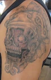 aztec skull tattoos tattoo collections