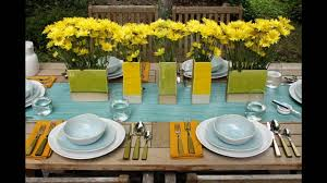garden party themed decorating ideas youtube
