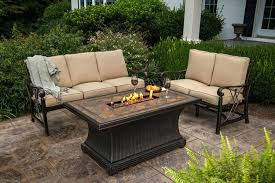 patio furniture with fire pit table patio set with gas fire pit table loanstemecula info