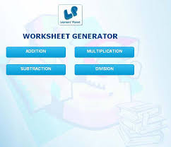 math worksheet generator android apps on google play